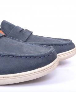 Navy Coloured Formal Shoes by Clog London