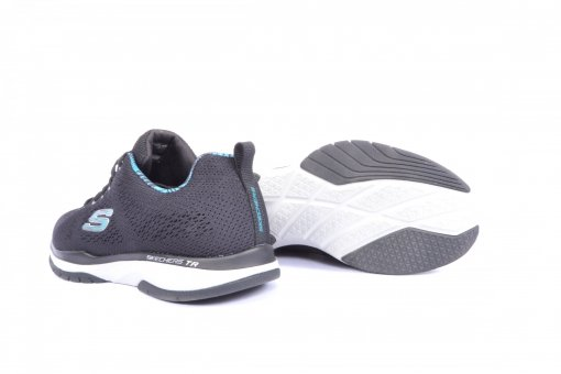 Black Coloured Sports Shoes by Skechers
