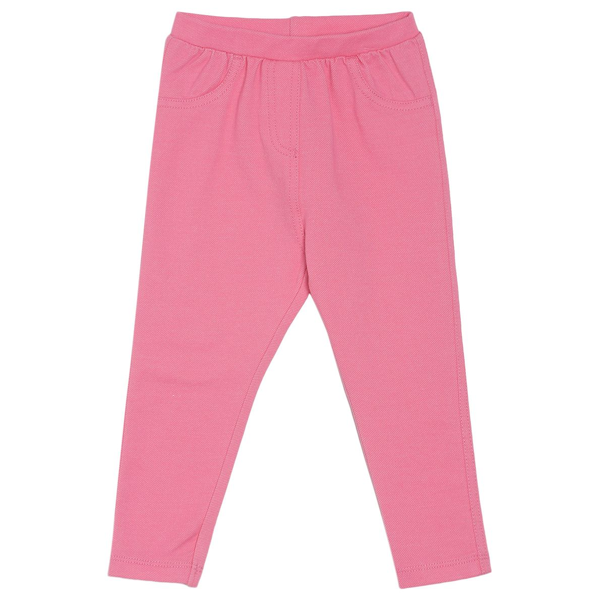 Pink Coloured Jegging by Mini Klub