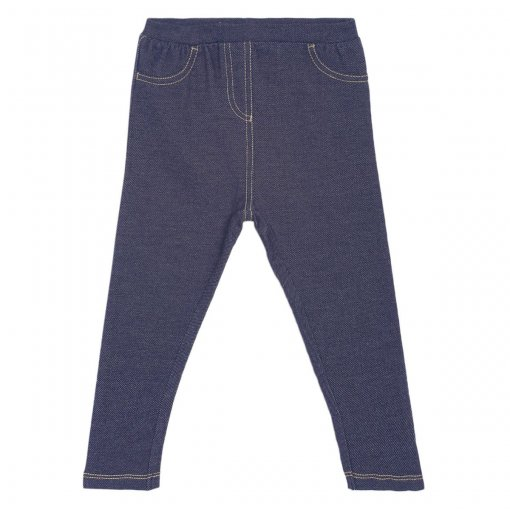 Navy Coloured Jegging by Mini Klub