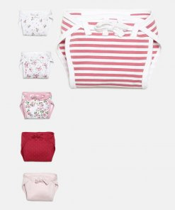 Pink Coloured Nappy by Mini Klub