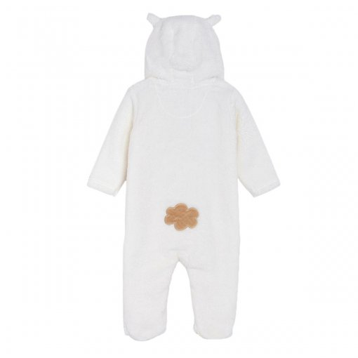 Off White Coloured Night Suit by Mini Klub