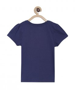 Navy Coloured Top by Mini Klub