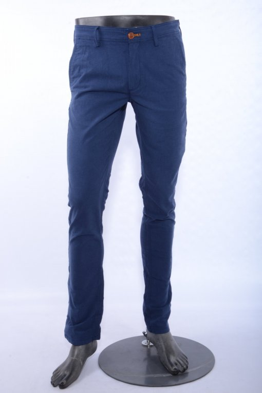 Navy Coloured Trouser by Indian Terrain