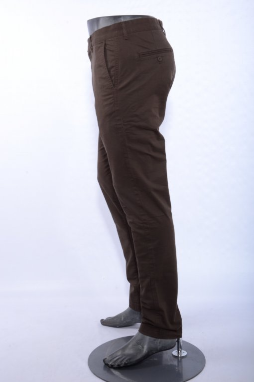 Brown Coloured Trouser by Indian Terrain