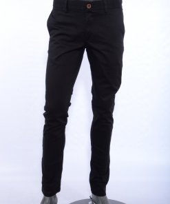 Black Coloured Trouser by Indian Terrain