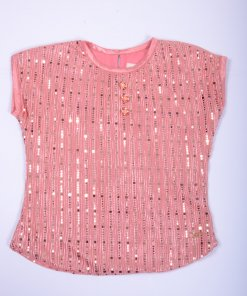 Pink Coloured Top by Tiny Toon