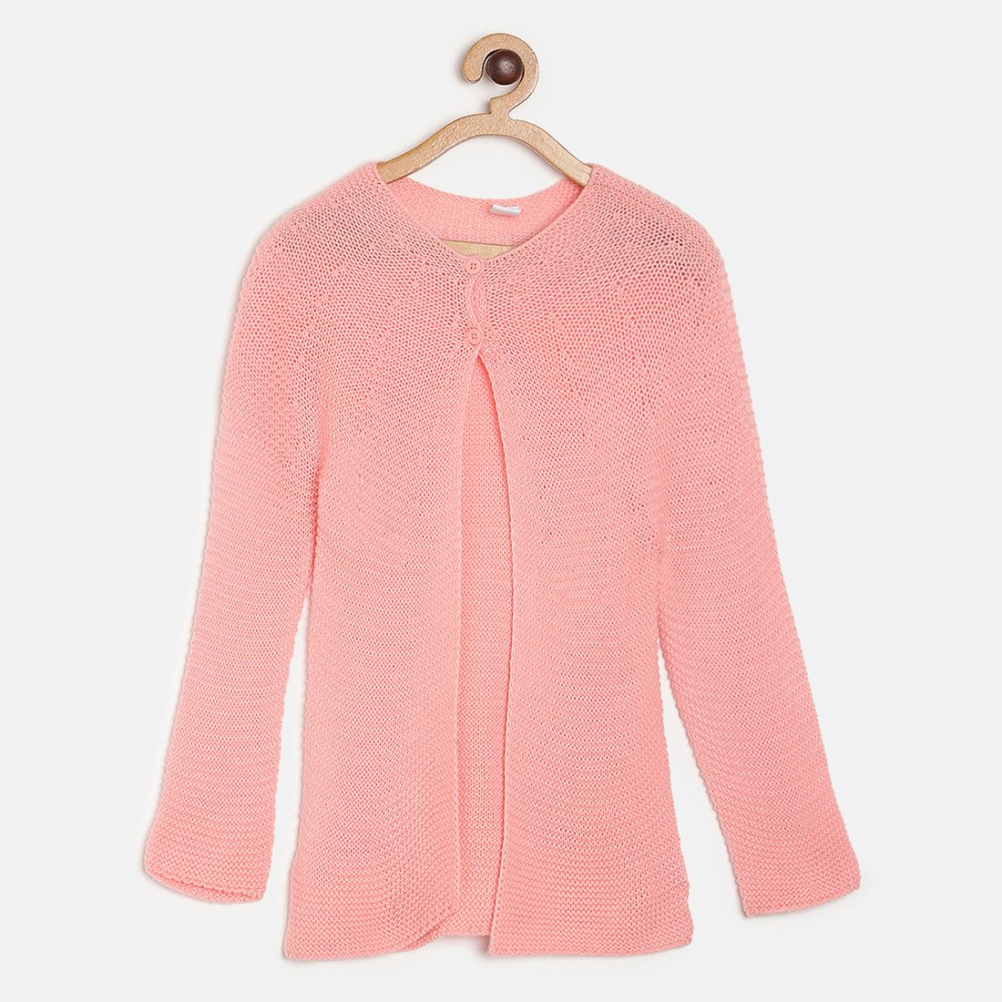Pink Coloured Pullover by Mini Klub
