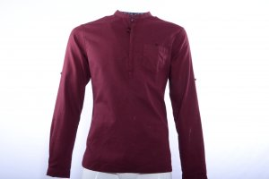 Maroon Coloured Shirt by Celio