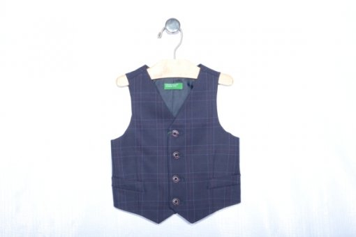 Navy Coloured Jacket by Benetton