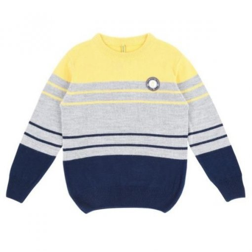 Yellow Coloured Pullover by Gini & Jony