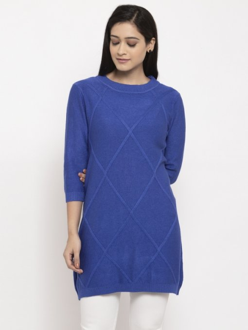 Blue Coloured Top by Global Republic