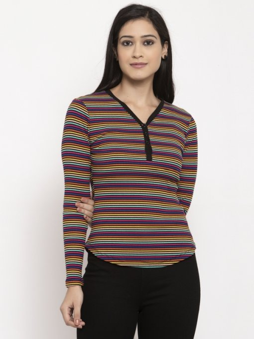 Multi Coloured Top by Global Republic