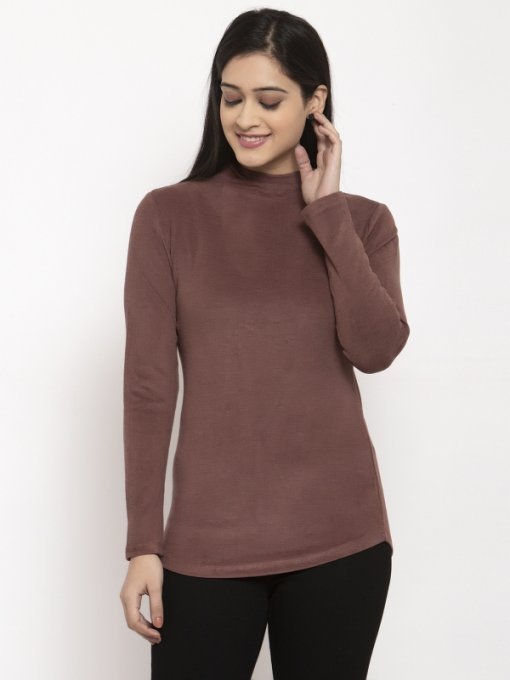 Brown Coloured Top by Global Republic