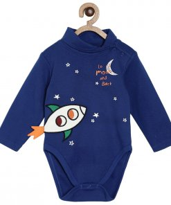 Blue Coloured Baba Suit by Mini Klub