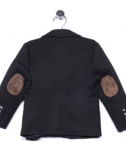Black Coloured Jacket by Us Polo