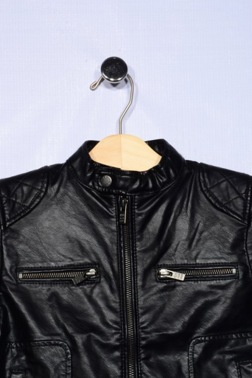 Black Coloured Jacket by Pepe Jeans London