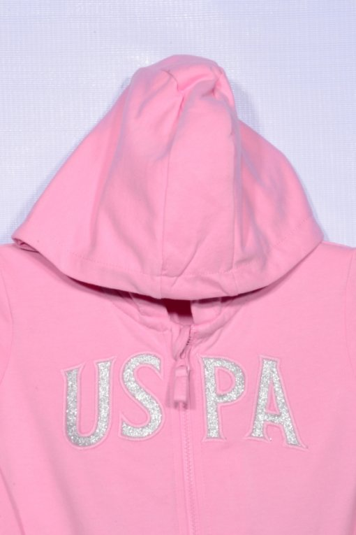 Pink Coloured Sweatshirt by Us Polo