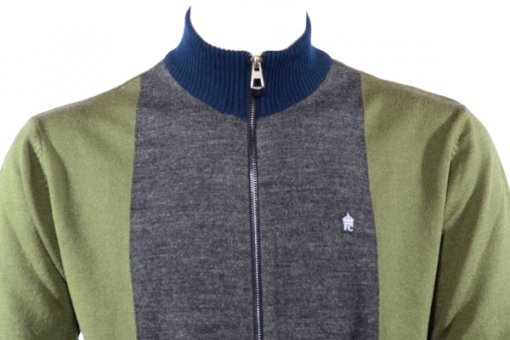 Green Coloured Pullover by Fcuk
