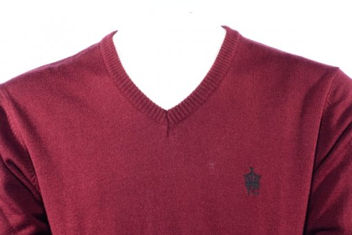Red Coloured Pullover by Fcuk