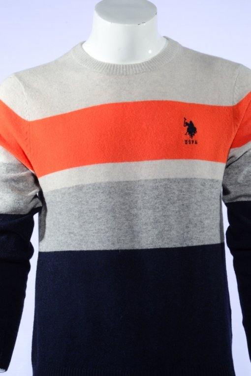 Multi Coloured Pullover by Us Polo