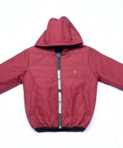 Maroon Coloured Jacket by Indian Terrain