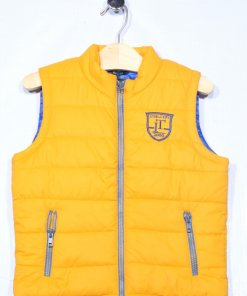 Yellow Coloured Jacket by Indian Terrain