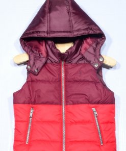 Red Coloured Jacket by Indian Terrain