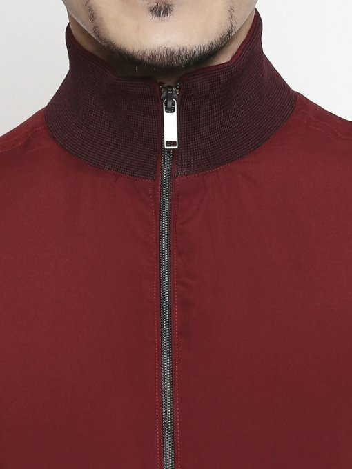 Maroon Coloured Jacket by Mufti