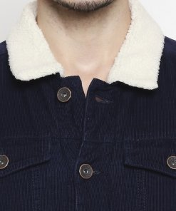 Navy Coloured Jacket by Mufti