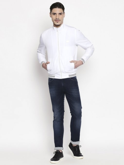 White Coloured Jacket by Mufti
