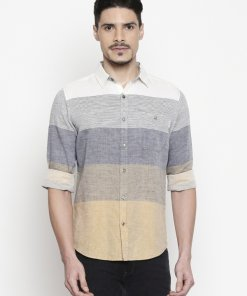 Off_White Coloured Shirt by Mufti