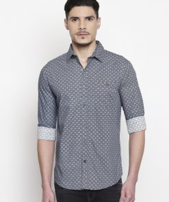 Blue Coloured Shirt by Mufti