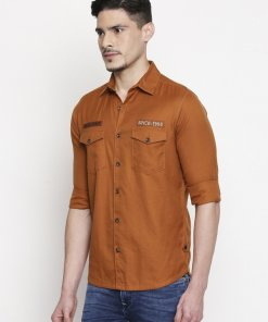 Red Coloured Shirt by Mufti