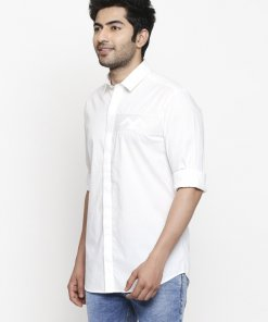 White Coloured Shirt by Mufti