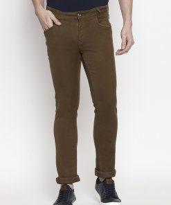 Brown Coloured Trouser by Mufti