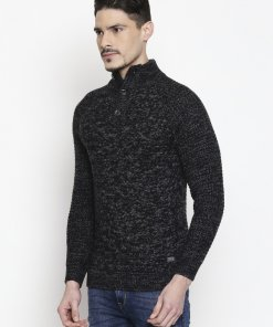 Black Coloured Pullover by Mufti