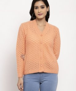 Pink Coloured Cardigan by Global Republic