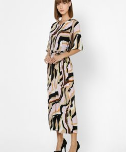 ONLY MULTI-COLOURED ABSTRACT PRINT JUMPSUIT
