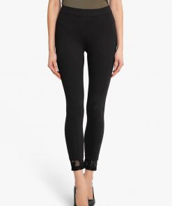 KAZO Jegging With Lace At The Hem