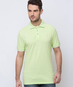 Status Quo Solid Stand Collar T-Shirt