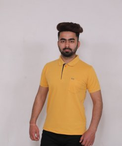 Yellow Coloured T Shirt by Deerdo