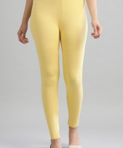 Aurelia Yellow Knitted Tights