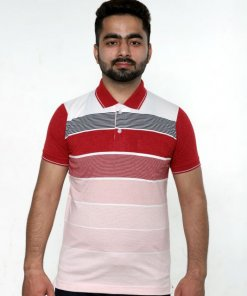 Red Coloured T Shirt by Deerdo