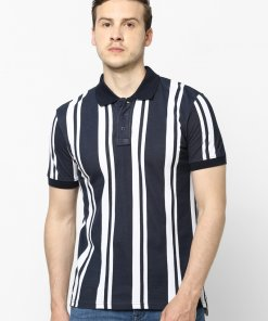 Navy Coloured T Shirt by Celio