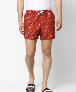 Red Coloured Shorts by Celio