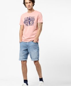 Blue Coloured Shorts by Celio
