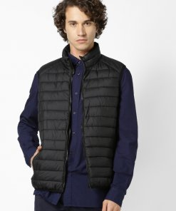 Green Coloured Jacket by Celio