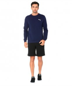 Terry Embroidered PUMA Cat Logo Men's Shorts