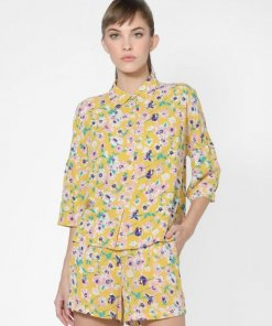 ONLY YELLOW FLORAL SHIRT